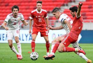 Матч Россия - Венгрия 6 сентября, счет 3:2