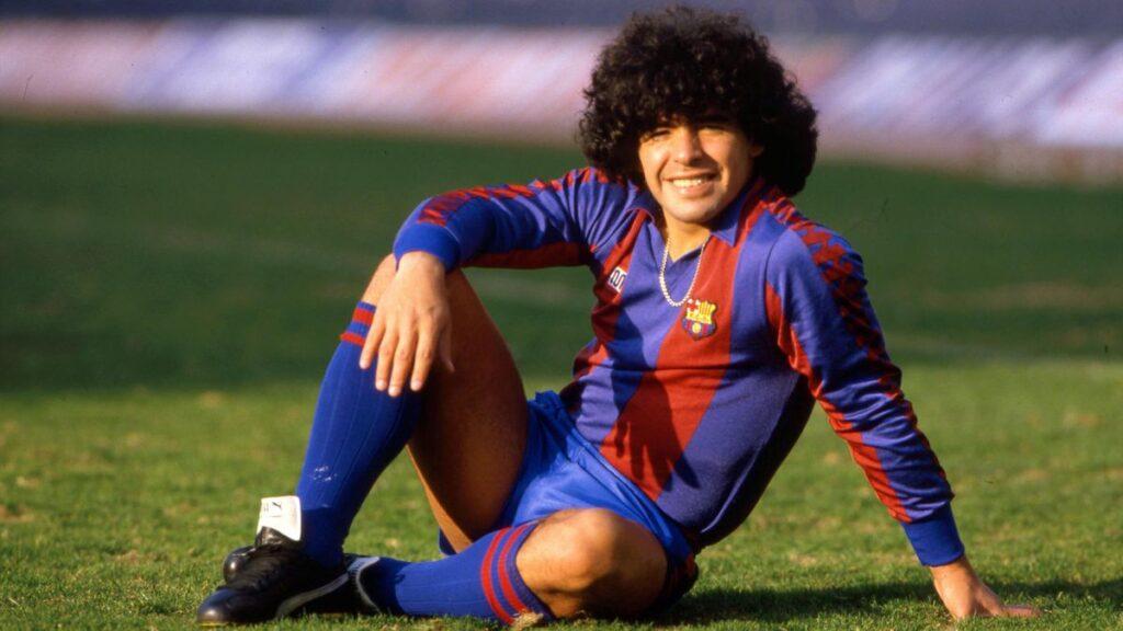 Диего играет в испанском клубе Барселона