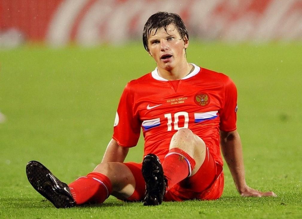 Андрей Аршавин в сборной России по футболу